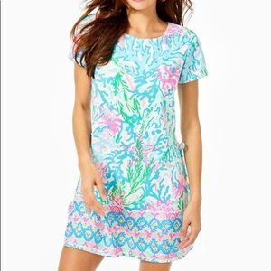 NWT Lilly Pulitzer Blanca Stretch Romper, size 4